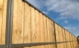 Rural Fencing Lap and Cap Timber Fencing